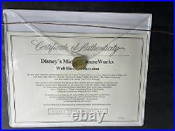 Disneys Mickey Mouseworks Pluto Original Production cel withCOA BH