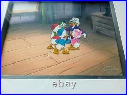 DuckTales Original Animation Production Cel
