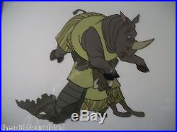 Fantastic 1971 Disney Bedknobs And Broomsticks Production Cel! Awesome Images