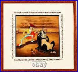 Ferdinand the Bull Original Production Cel Courvoisier Disney 1939