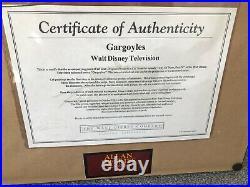 Gargoyles 1994 Disney Original Production Cel 13 X 16 FRAMED