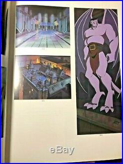 Gargoyles Pan production cel and background key master Sothebys 6/10/95
