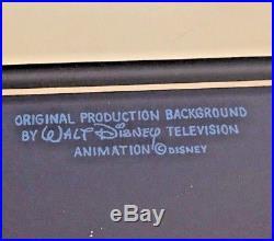 Gargoyles Production Background OBG Key Mater cel Disney S01E08 Deadly Force