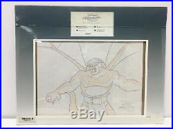 Gargoyles Walt Disney Television Original Production Art Painted Animation Cel