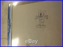 Giantland Walt Disney Productions Cel 1933, Original Drawing Of Mickey Mouse