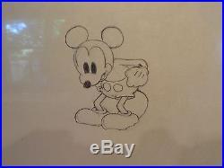 Giantland Walt Disney Productions Cel1933, Original Drawing Of Mickey Mouse