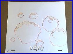 Gummi Bears (1985) Production cel FIRST SEASON Igthorn Toadies Wild Ride Disney