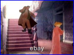 Jim Dear, Darling Disney Production Cels From Lady And The Tramp, Mint Framed