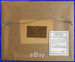 Jiminy Cricket Art Corner Vintage Original Production Disney Cel hand SIGNED