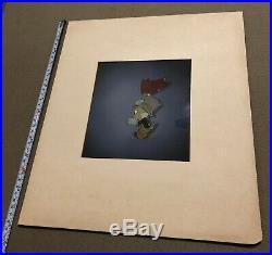 Jiminy Cricket Pinocchio Courvoisier Production cel 1940 Disney Original