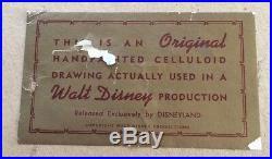 Jungle Book' 1967 Production Cel of Mogli with 4 Monkeys Disney Animation Art