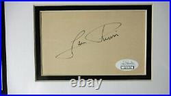 Jungle Book Production cel Art Corner King Louie Autograph Louie Prima Jazz 1967