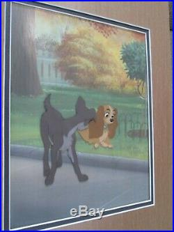 Lady and the Tramp Disney production Cel 1955