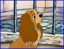Lady and the Tramp Lady Original Production Cel Walt Disney 1955