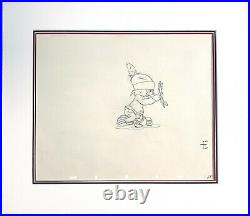 Little Hiawatha Disney Silly Symphony KEY Original Production Cel Drawing 1937