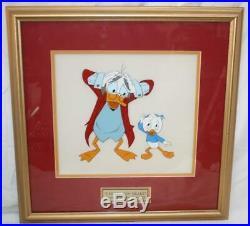 Ludwig Von Drake Original Production Disney Cel FramedSS