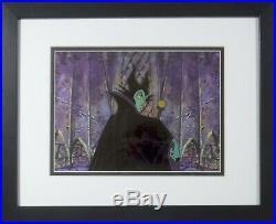 Maleficent Sleeping Beauty cel Art Corner Disney Original Production cel