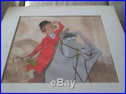 Mary Poppins Disney production cel art corner 1964