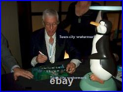 Mary Poppins cel Penguin Art Corner Original Production signed Dick Van Dyke