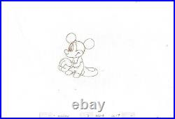 Mickey Mouse 1995 Production Animation Cel Drawing Disney Runaway Brain 12 HUGE
