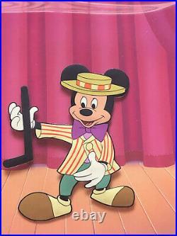 Mickey Mouse Club Art Disney cel Original Production ca 1950s Nicely Framed