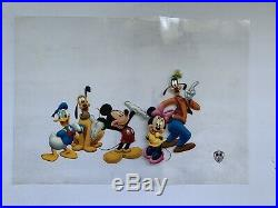 Mickey Mouse and friends Animation Production Cel Disney