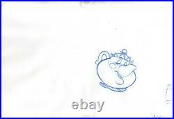 Mrs Potts Walt Disney Beauty and Beast Production Animation Cel Drawing 1991 208