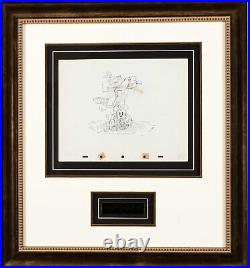 On Ice Mickey Mouse 1935 Walt Disney Production Cel Drawing