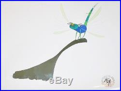 Original Disney Animation Production Cel from The Rescuers featuring Evinrude