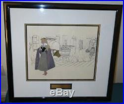 Original Disney Production Cel Briar Rose from Sleeping Beauty