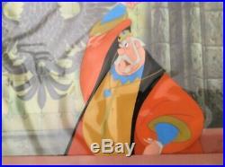 Original Disney Production Cel King Hubert from Sleeping Beauty