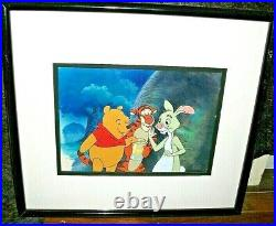 Original Disney Production Cel The New Adventures of Winnie the Pooh With Cert