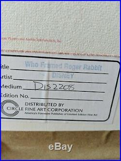 Original Disney Production Cel from Who Framed Roger Rabbit