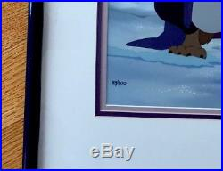 Original Disney Studios Production Cel BEAUTY and the BEAST 83/500