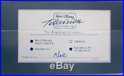 Original Disney Television GARGOYLES Production Cel ELISA GOLIATH BROOKLYN MIF
