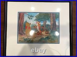 Original Disney Winnie The Pooh Production Cel of Pooh