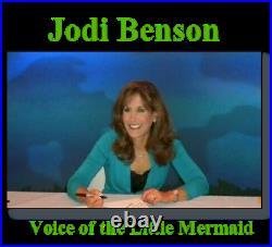 Original Disney production Cel The Little Mermaid Ariel Flounder Official CoA