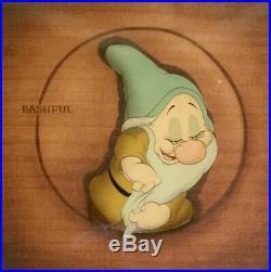 Original Production Cel from Walt Disney's Snow White 1937 BASHFUL