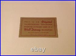 Original Walt Disney ART CORNER Production Cel Celluloid of DUTCHESS