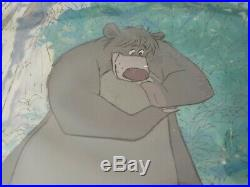 Original Walt Disney Jungle Book Cartoon Production Cel Cell Scarce & RARE