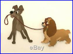 Original Walt Disney Lady and the Tramp Production Cel of Lady and Tramp