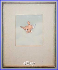 Original Walt Disney Production Cel Featuring Baby Pegasus from Fantasia
