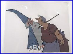 Original Walt Disney Production Cel From Sword in The Stone featuring Merlin