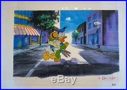 Original Walt Disney Production Cel featuring Donald Duck and Jose