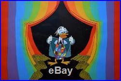 Original Walt Disney Production Cel featuring Ludwig von Drake