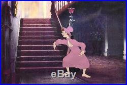 Original Walt Disney Production Cel from Cinderella featuring Evil Stepsister
