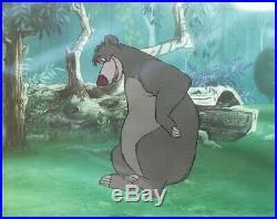 Original Walt Disney Production Cel from The Jungle Book of Baloo