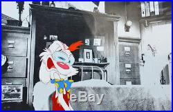 Original Walt Disney Production Cel of Roger Rabbit From Who Framed Roger Rabbit