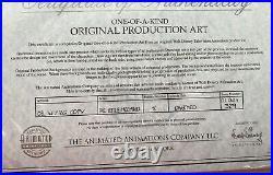 Original production cel Little Mermaid (Disney TV)