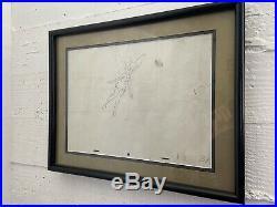 RARE 1953 Tinker Bell Drawing Peter Pan Production Used Disney Marc Davis Cel OG